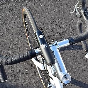 VOLT400  ボルト400 ヘッドライト 自転車用ヘッドライト 前照灯 ロードバイク クロスバイク ミニベロ 小径車 ブルベ ロングライド