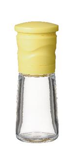 京セラ ミル セラミック 90 ml イエロー ごま 用 粗さ 調節 機能 Kyocera CM-15N-YL 挽き たて 立て ゴマ 胡麻 サビない さびない 炒り 分解 洗浄 水洗い