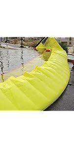 Quick Dam Flood Barrier 6 Quot X 5 2 Pack Amazon Com