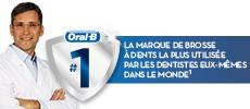 Oral-B PRO 1000 CrossAction Brosse à dents électrique rechargeable, par Braun