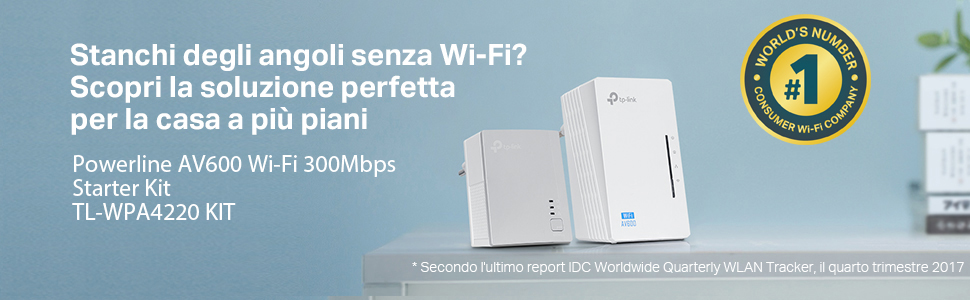 Powerline TP-Link wifi