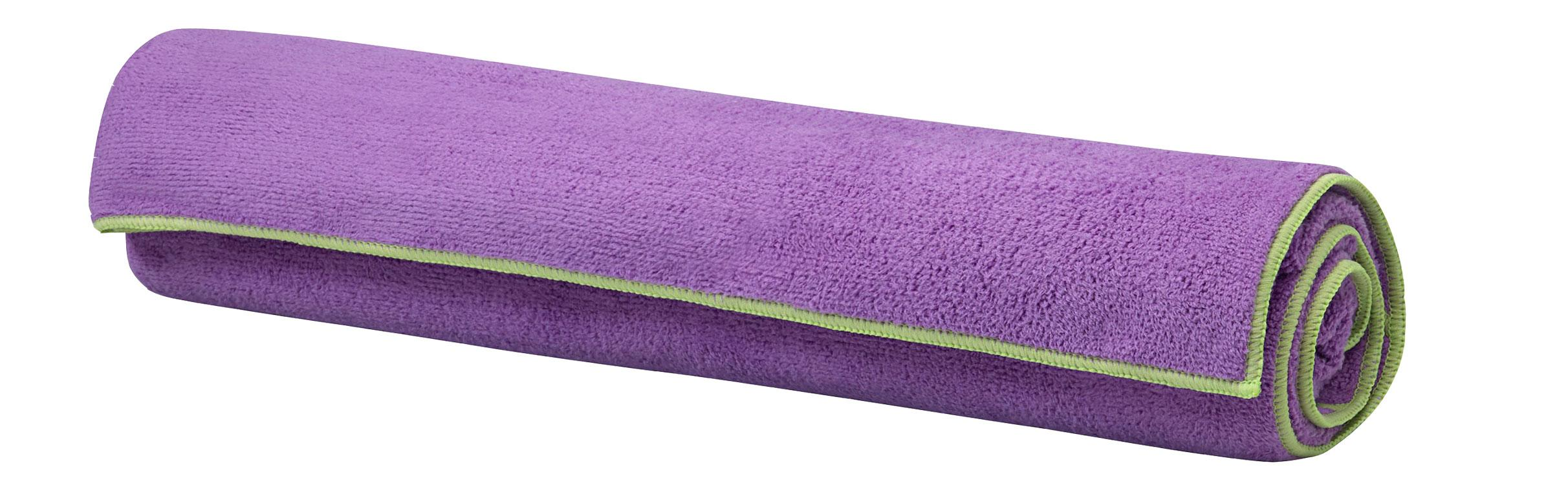 Gaiam Ffld62918003 Stay Put Yoga Mat Towel Lake Sports