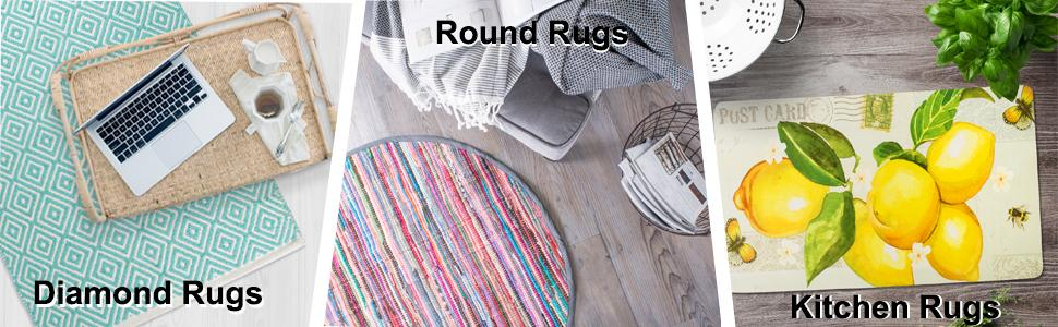 area rugs, kitchen rugs,