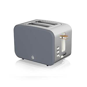 Toaster, grey, modern, nordic, stylish