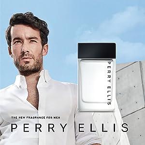 perry ellis aaron diaz fresh clean white day casual light aqua romantic classic clean woody vanilla