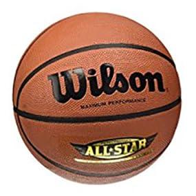Wilson Performance All Star Balón, Unisex Adulto, marrón, 7 ...