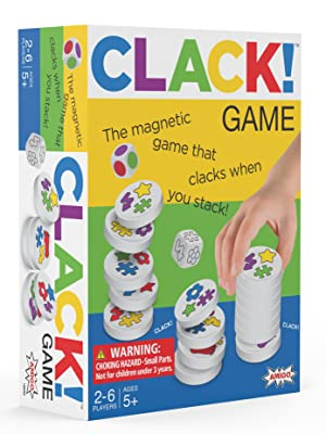 Clack magnetic game