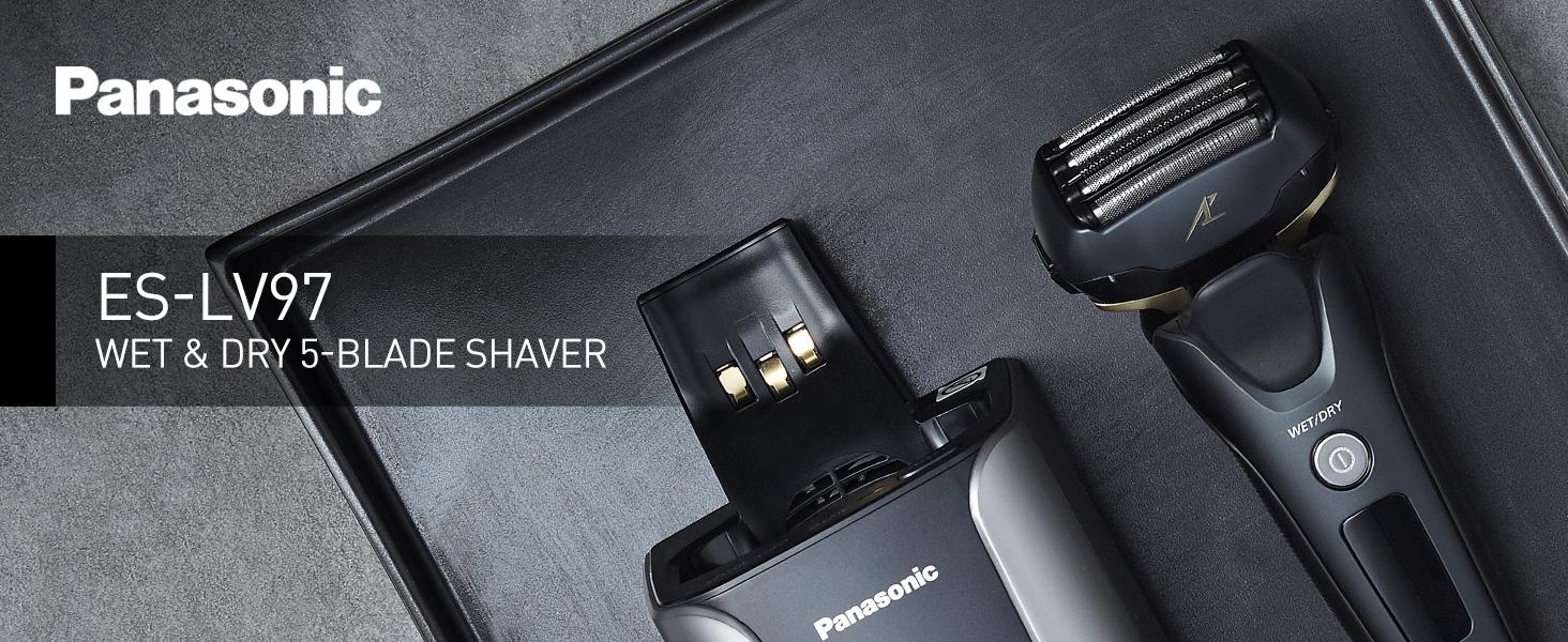 Men's 5-Blade Wet & Dry Electric Shaver