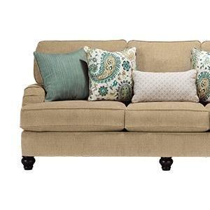 Pleasing Ashley Furniture Signature Design Baveria Traditional Style Rolled Arm Sleeper Sofa Queen Size Mattress Included Fog Machost Co Dining Chair Design Ideas Machostcouk