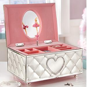 lenox, lenox jewelry box, jewelry box, children, children's jewelry box, ballerina jewelry box
