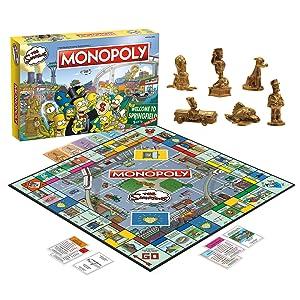 Monopolia: Los Simpsons juego de mesa