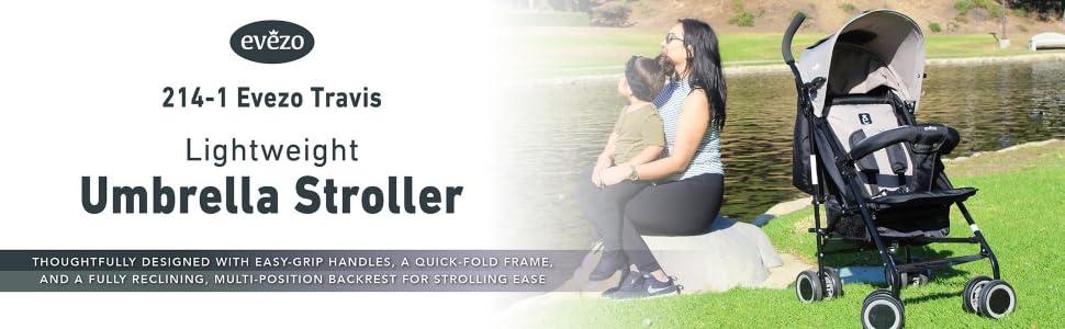 Evezo Travis Stroller