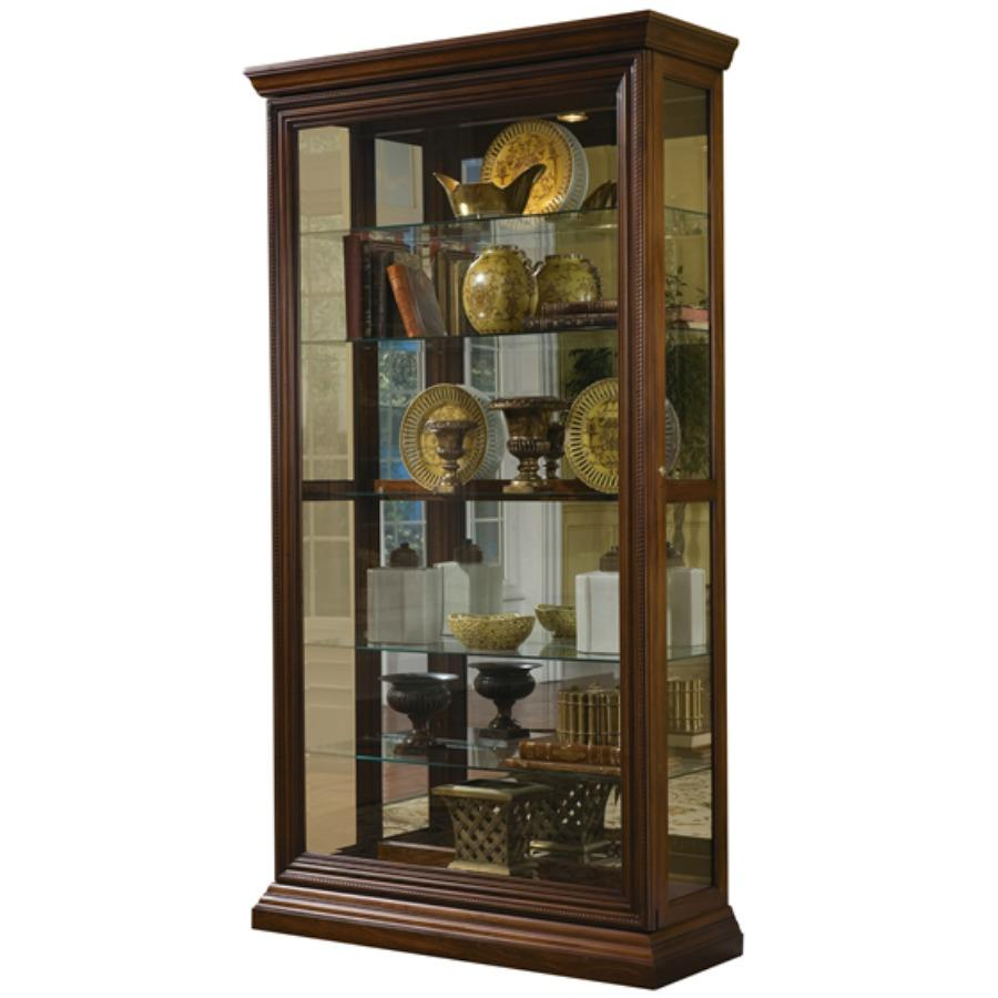 kitchen curio cabinet pulaski two way sliding door curio 43 by 16 21629