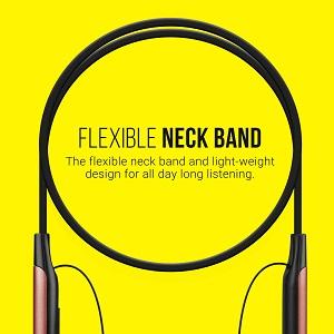 Flexible Design Neckband