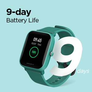 9-Day Battery Life Smarwatch