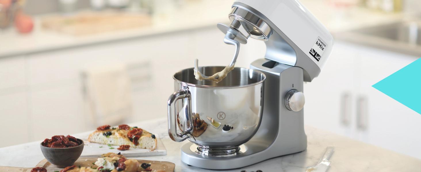 Kenwood kMix KMX750WH - Robot de Cocina, 1000 W, Bol 5 L con Asa ...