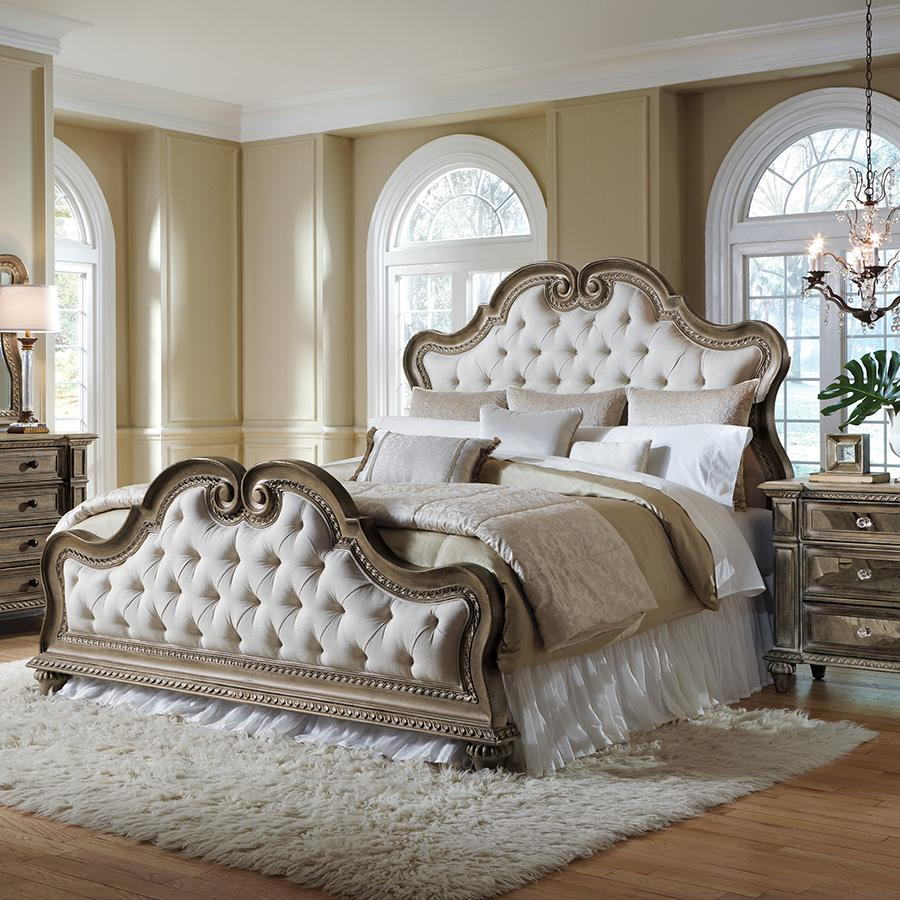 Pulaski Bedroom Sets. View larger Amazon com  Pulaski Arabella Upholstered Bed King Kitchen Dining