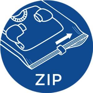 How to use Ziploc Travel Bags - Step 2: Zip