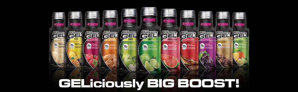 Endura Sports Energy Gel   Vanilla 20 Pack: Amazon com au
