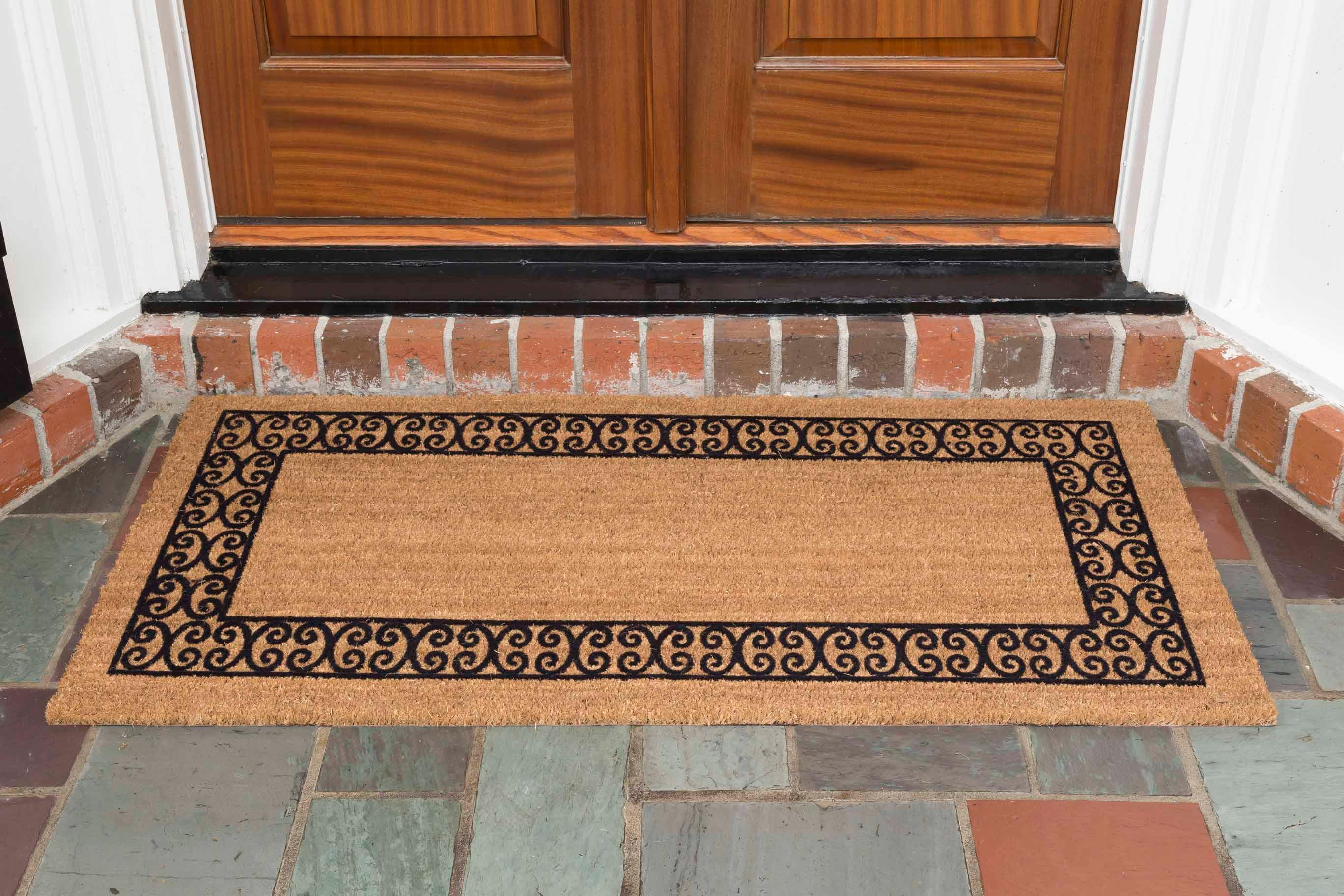 doormat pdx wayfair fleur reviews doors lis door frances living double de rugs solid