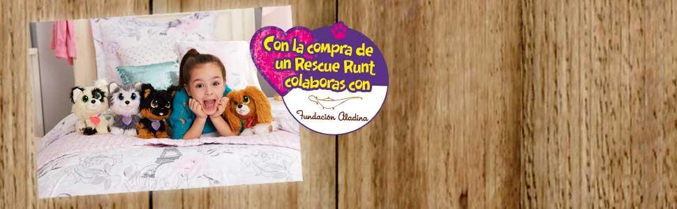 Además, con cada Rescue Runts colaboras con la fundación Aladina