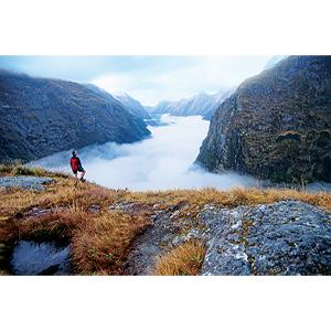 On foot, hiking, climbing, walking