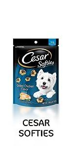 cesar softies dog treats, cesar treats, grilled chicken treats, treats for dogs, soft dog treats