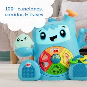 Fisher-Price- Rocky Roquero, Multicolor (Mattel FXD05): Amazon.es ...