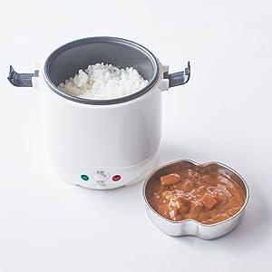 炊飯しながら同時に温め