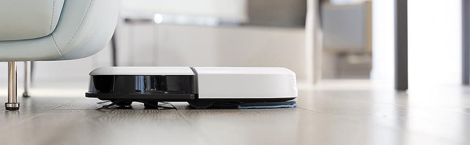 Ecovacs Deebot Slim2 Robot Aspirador 3 en 1: barre, aspira y pasa ...