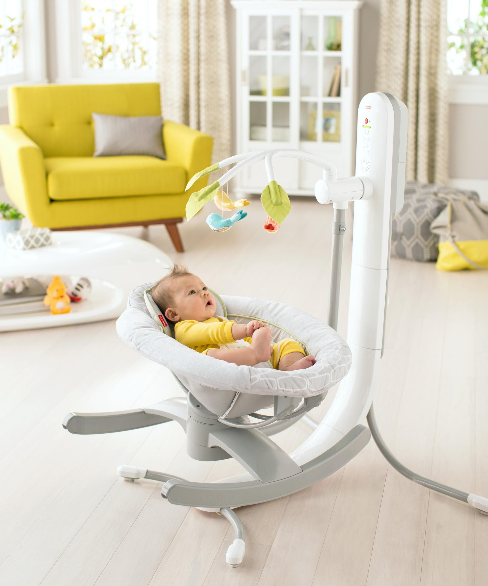 Amazon Com Fisher Price 4 In 1 Smart Connect Cradle N