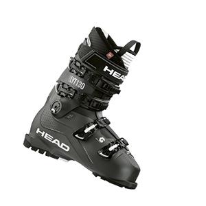 Head Nexo LYT 110 Mens Ski Boots Anthracite Red Grey