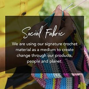 Social Fabric, Artistic Integrity, Crochet, Eco