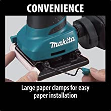 convenience large paper clamps easy paper installation holds