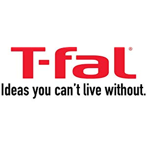 T-fal C412S2 Endura Granite Ceramic Nonstick Thermo-Spot Heat Indicator Dishwasher Oven Safe PFOA Free Fry Pan Set Cookware, 8-Inch and 10.5-Inch, ...