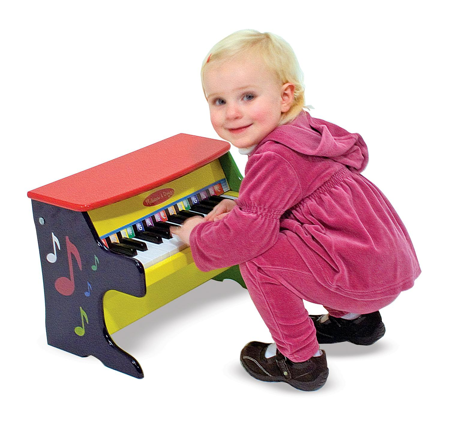 Amazon Com Melissa Amp Doug Learn To Play Piano With 25