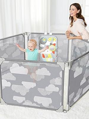área de jogo da gaiola do bebê interna, porta do octógono do bebê, espaço do jogo do bebê, espaço do jogo,