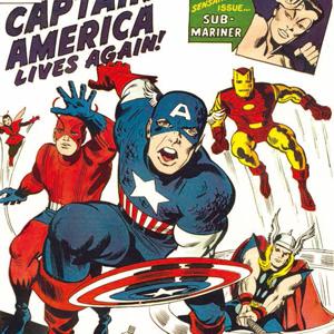 『アベンジャーズ』 4号、1964年3月。