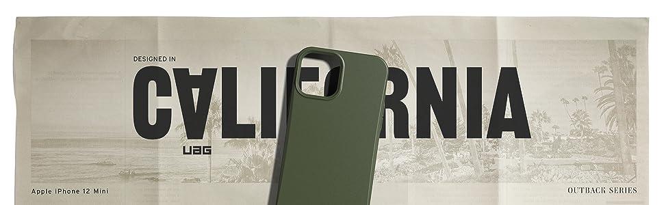 Urban Armor Gear Outback Bio Hülle Apple Iphone 12 Mini 5 4 Zoll Schutzhülle Biologisch Abbaubare Materialien Wireless Charging Kompatibel Sturzfeste Handyhülle Ultra Slim Bumper Lilac Elektronik