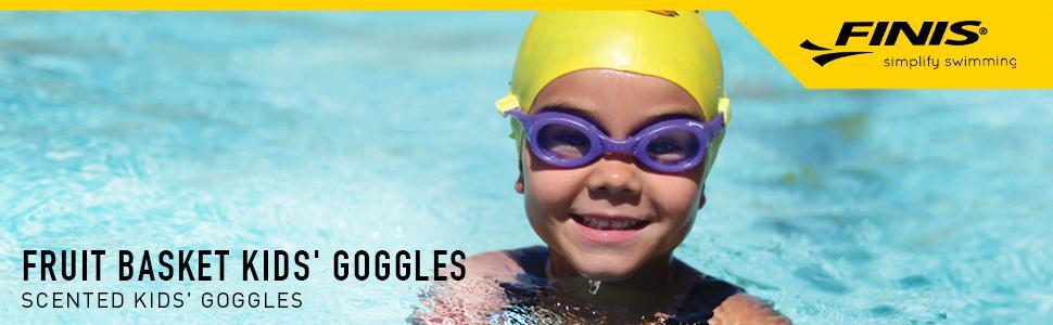 3c5a063f2ffd Amazon.com   Fruit Basket Blue Berry   Kids Scented Swim Goggles ...