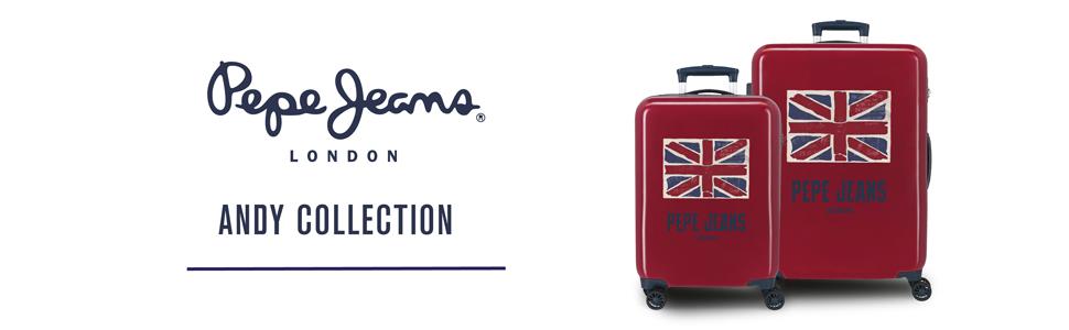 maleta pepe jeans bandera UK