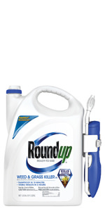 Roundup Ready-To-Use Weed & Grass Killer III with Comfort Wand