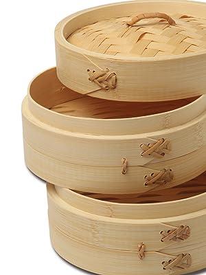 Bamboo Steamer Sets