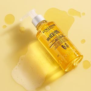 loccitane oil to milk cleanser