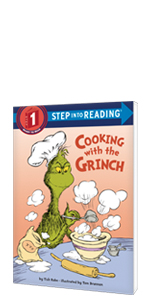 Grinch, Christmas Books, Holiday Books, Seuss, Dr Seuss. Suess, grinch gifts, santa, toddler xmas