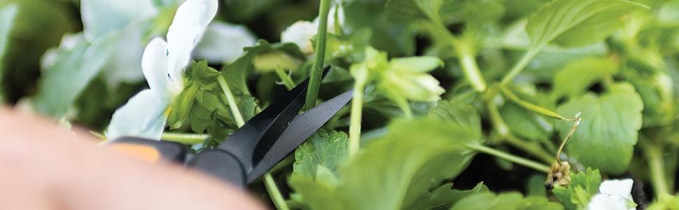 Fiskars Micro-Tip Pruner Non-Stick Blades