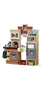 Amazon Com Step2 Little Bakers Kitchen Playset Toys Amp Games