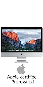Apple iMac MK482LL/A 27-inch Retina 5K Desktop