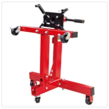 Torin Big Red Steel Rotating Engine Stand with Foldable Frame 3//4 Ton 1,500 lb Capacity