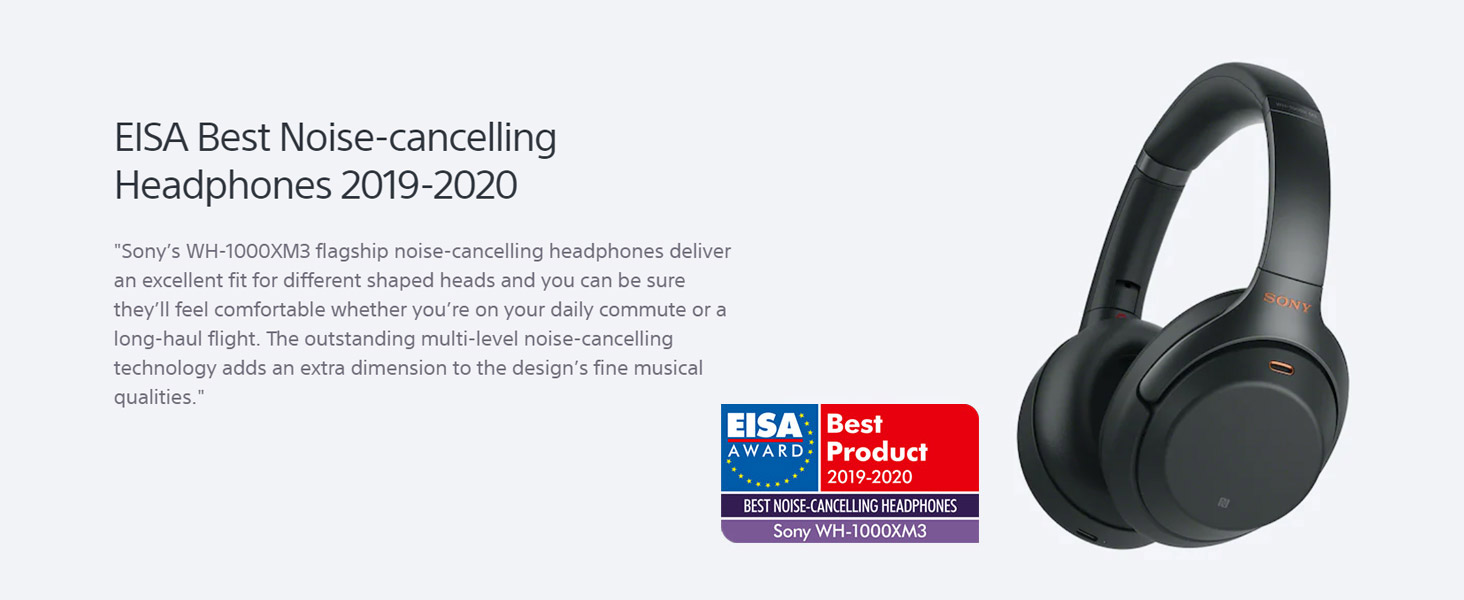 EISA Best Noise-Cancelling Headphones 2019-2020